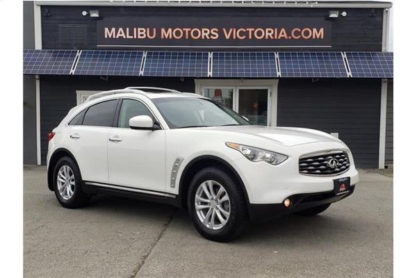 Infiniti FX35 LEATHER - NAV - 360 CAMERA - DVD - BC VEHICLE 2010
